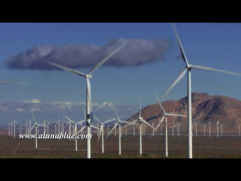 Wind Turbine 3004 HD Stock Footage
