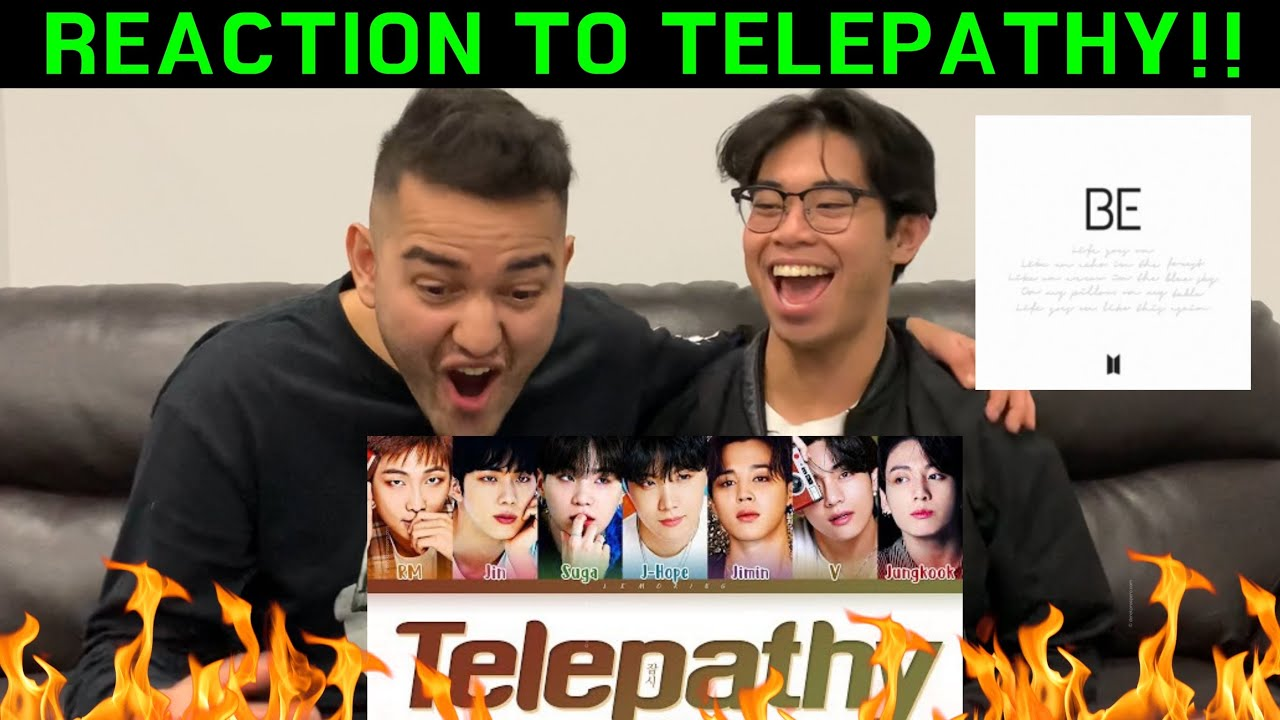 BTS Telepathy Lyrics (방탄소년단 잠시 가사) [Color Coded Lyrics/Han/Rom/Eng] REACTION!!