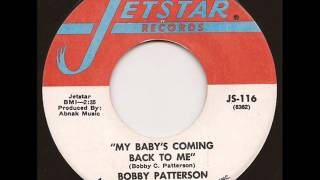BOBBY PATTERSON - MY BABY