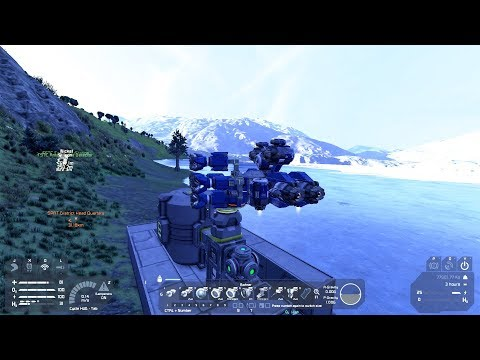 Space Engineers #07 Hydrogen Fabrik .... Deutsch/German 1080p@60fps