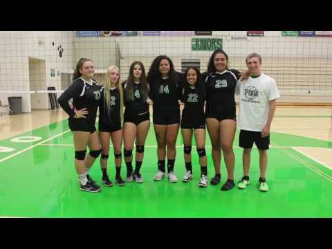 Provo High Girls Volleyball RallyAroundUs Campaign Video