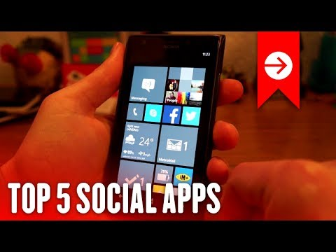Top 5 Social Apps for Windows Phone
