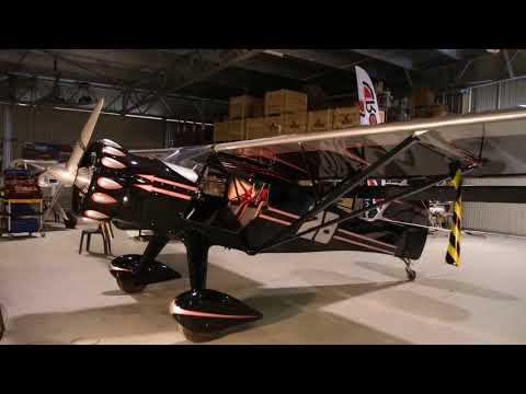 Kitfox Airplane with Rotec Radial Engine
