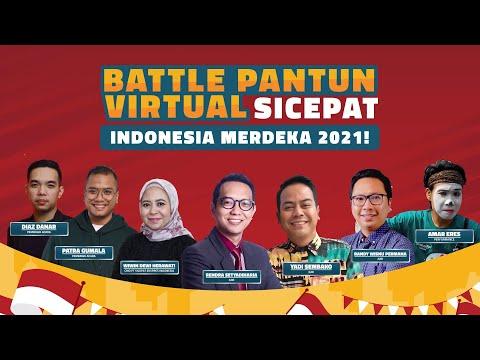 BATTLE PANTUN VIRTUAL SICEPAT - INDONESIA MERDEKA 2021!