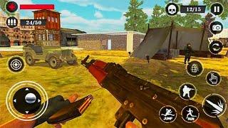 Counter Terrorist Gun Strike Battleground War 3D - Android GamePlay - Shooting Games Android