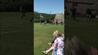 Scottish dad school sports day fail funny
