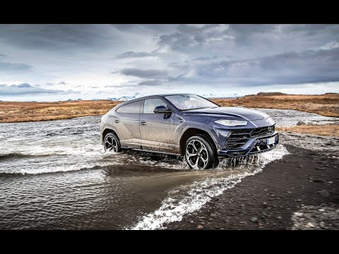 Lamborghini Urus - Start Up & Acceleration & Exhaust Sound & Drift in Snow (2019 Compilation)
