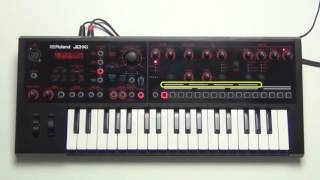 Roland JD-Xi - How to adjust Scale Setting in Pattern Sequence