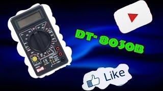 [Обзор #8] Мультиметр  DT-830B + инструкция