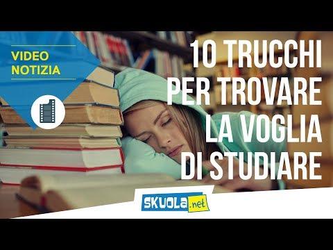 10 trucchi per trovare la voglia di studiare!