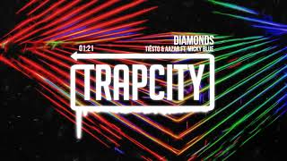 Tiesto &amp Aazar - Diamonds (ft. Micky Blue)