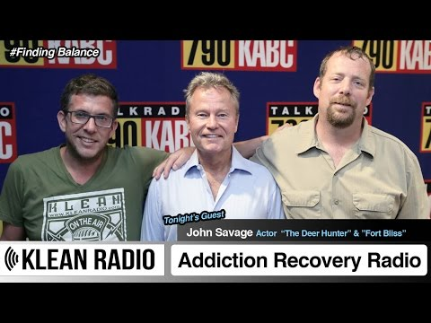 KLEAN Radio - Actor John Savage #FindingBalance (09.07.2014)