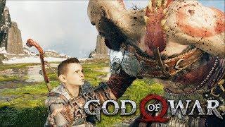God Of War #17 - Atreus Virou Um Jovem Dinamico e a Luta Contra Um Deus (Gameplay PT BR PS4 PRO)