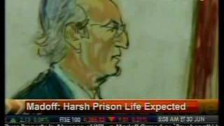 Harsh Prison Life Expected - Madoff - Bloomberg
