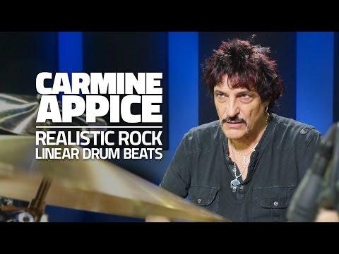 Carmine Appice: Linear Drum Beats - Drum Lesson (Drumeo)
