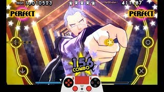 Persona 4: Dancing All Night - Free Dance (All Night) w/ Controller Overlay [PS TV]
