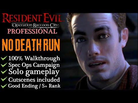 【Resident Evil: Operation Raccoon City】Pro/No Death/S+ Walkthrough - Spec Ops