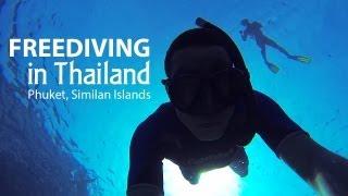 Freediving in Thailand | Фридайвинг в Таиланде