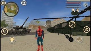 Spider Rope Man Hero - Rope Spider Vice City   Amazing Spider Rope Hero Gangster Vegas - GamePlay