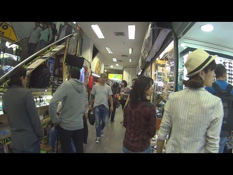 Shopping Arcade in Brazil - São Paulo Downtown