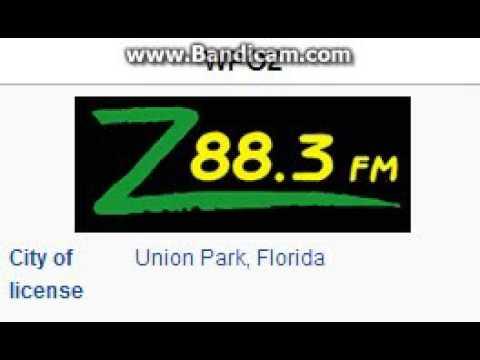25 Days of Christmas Radio  Day 13: WPOZ: Z883 Union Park, FL TOTH ID 4pm ET121315