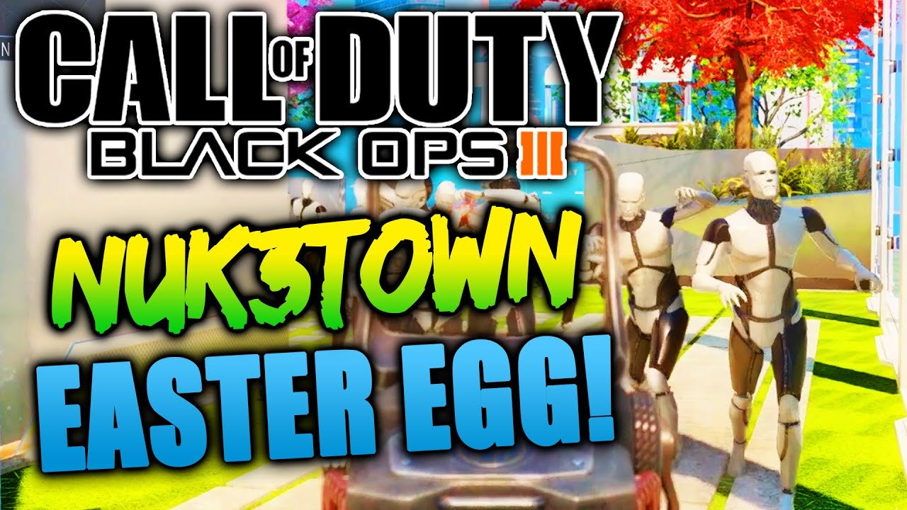 BLACK OPS 3 NUK3TOWN EASTER EGG ROBOT MANNEQUIN ZOMBIES COD BO3 ...