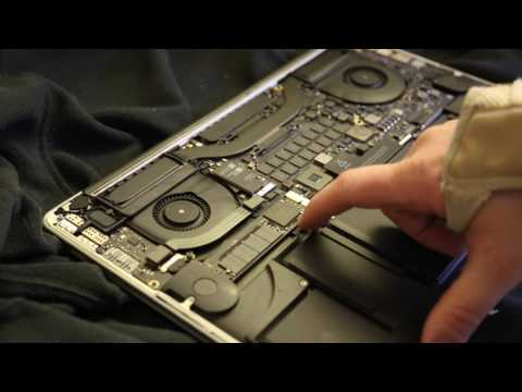 How to Clean the Retina MacBook Pro Fans & Logic Board