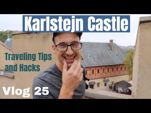 Karlstejn Castle Czech Republic (Vlog 25) Plus travel tips