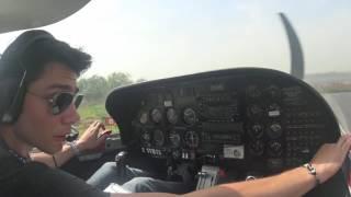 Eğitim sonrası ilk Yalnız uçuş (First Solo Flight)