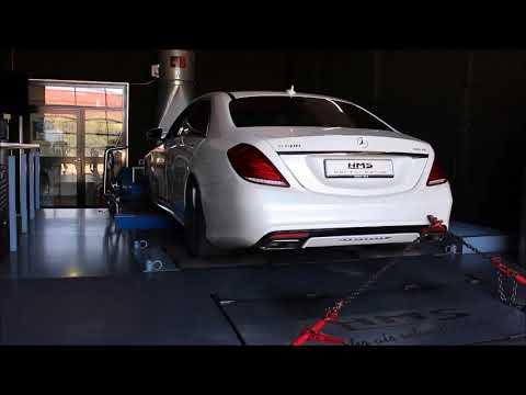 Mercedes Benz S500 4Matic V8 BiTurbo Mit HMS Performance Klappenabgasanlage
