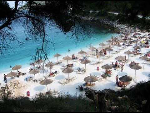 mermerna plaza tasos mapa Saliara beach   Mermerna plaza ( Thassos island, Greece )   YouTube mermerna plaza tasos mapa
