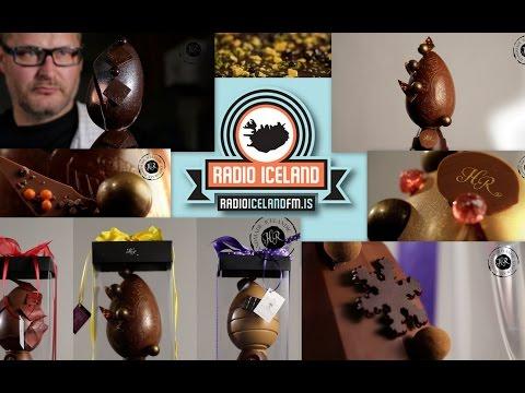Hafliði Ragnarsson Chocolatier - Radio Iceland