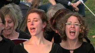 """Solare: """"Endspiel"""" aus """"Caissas Gedächtnis"""", Chor der Universität Bremen, Breminale 2015"""