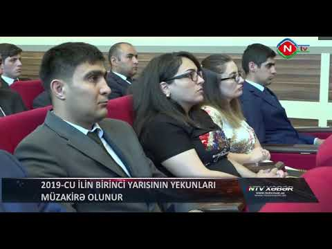 Gənclər Və İdman Nazirliyində Kollegiya Iclası Keçirilmişdir