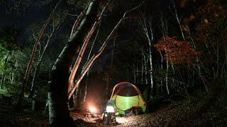 ソロキャンプ@夢の平キャンプ場