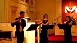 Canon - Flute Trio With Violoncello and Piano Resimi