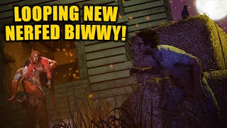 LOOPING NEW NERFED BIWWY! Survivor Gameplay Dead By Daylight