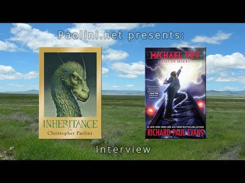 Christopher Paolini Interviews Richard Paul Evans