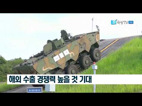 K Force TV - South Korea K808/K806 8X8/6X6 Armoured Wheeled Vehicles Production Testing [1080p]