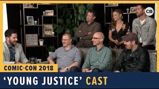 Young Justice - SDCC 2018 Exclusive Interview