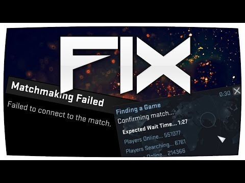 csgo matchmaking unavailable retrying fix