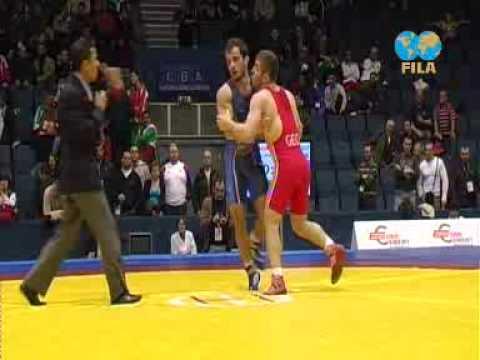 ambako vachadze vs manuchar tskhadaia 2009 european championship