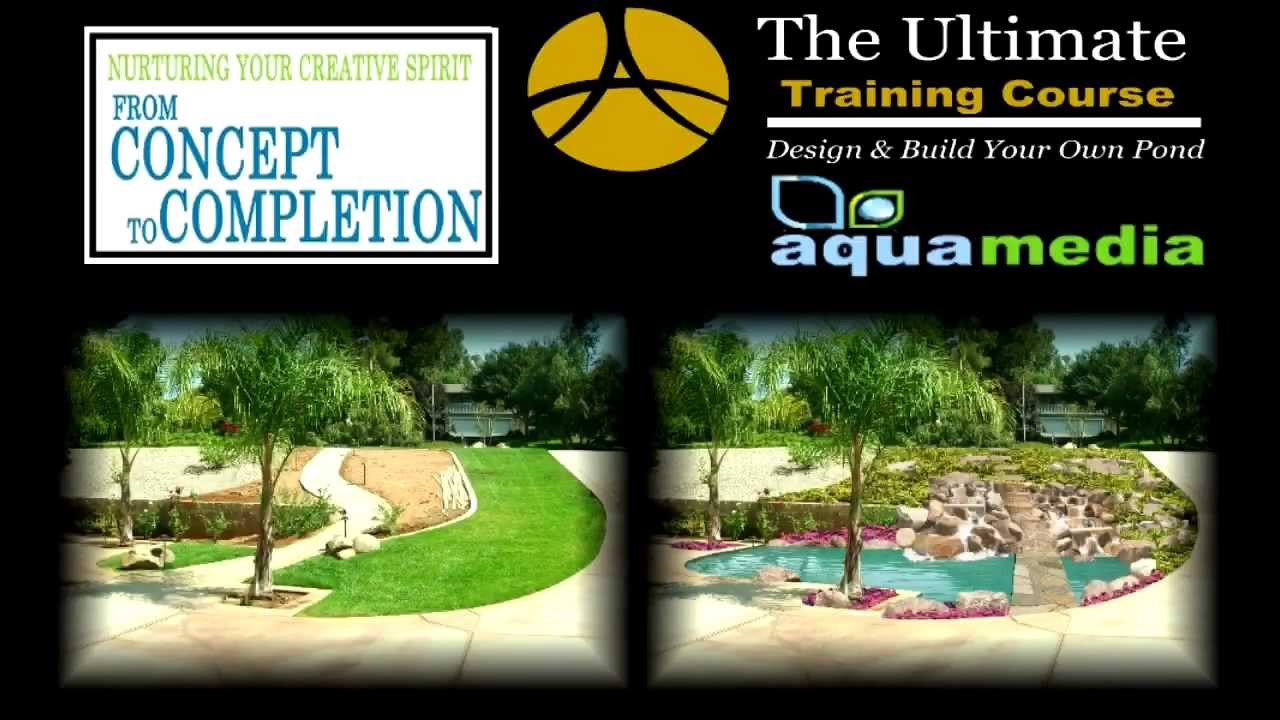 Digitally Design Ponds Waterfalls Water Garden Design Software