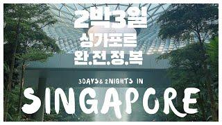 [VLOG] 싱가포르 나홀로 2박3일 완.전.정.복 (…