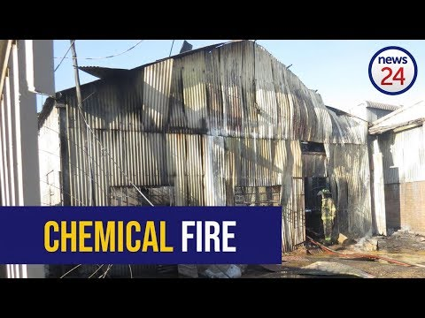 WATCH: Four injured in Boksburg chemical explosion