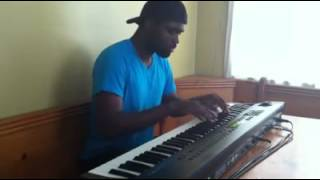 "Aaron Thomas Stevie Wonder ""All I Do"" Piano Cover"