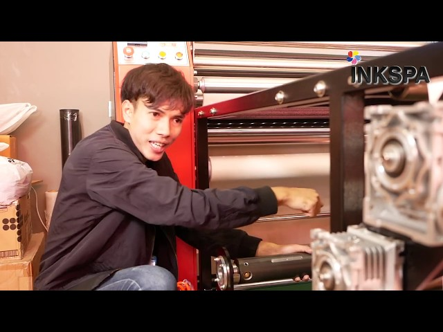 เครื่องรีดร้อน เครื่อง heat transfer machine เครื่องโรล สำหรับ งานพิมพ์ซับลิเมชั่น | Inkspa Review