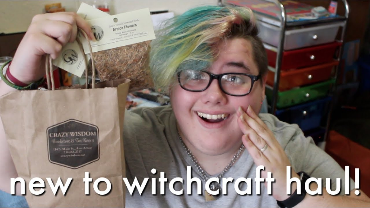 beginner wiccan witchy haul ★