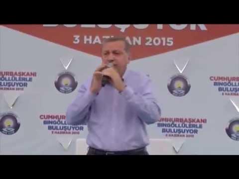 Cumhurbaşkanı Erdoğan, Bingöl Buluşması 3 Haziran 2015