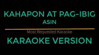 Kahapon At Pag-Ibig - Asin (Karaoke Version)